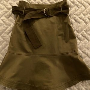 MARISSA WEBB army green Dani skirt size 4
